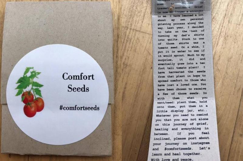 Creating Comfort Seeds