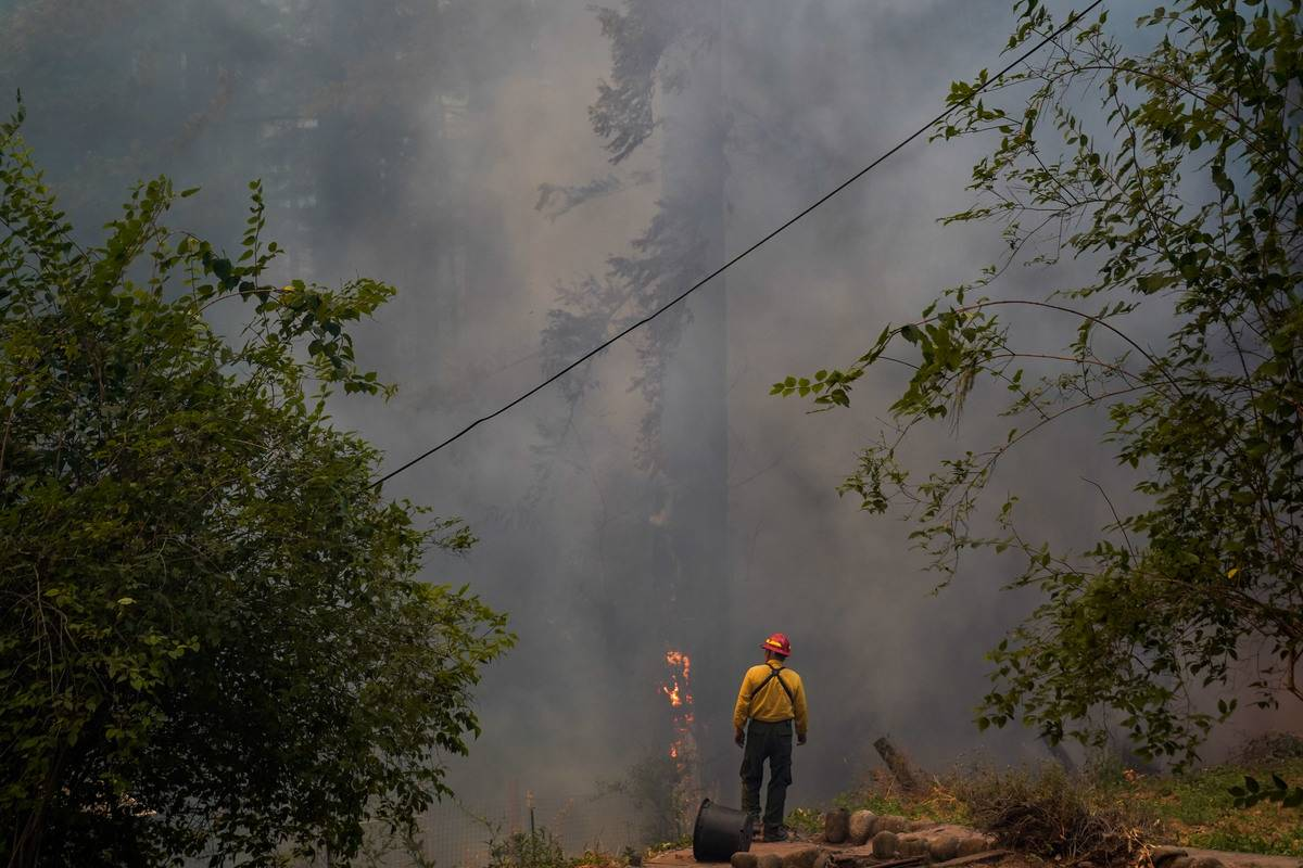 They Worked Through Oregon's Wildfires
